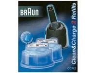 Recharge lotion nettoyante braun ccr2 pour les clean & charge (x2) - ref 5331707 pour 13€