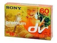 Cassette mini dv premium 60mn sony 5dvm60pr-bt