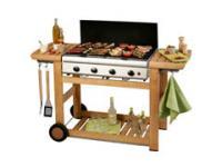 Barbecue gaz campingaz adélaïde 4 woody pour 264€