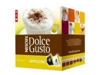Dosettes dolce gusto nescafé cappuccino pour 7€