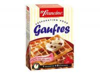 Farine francine preparation gaufres 350g pour 4€