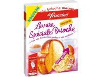 Farine francine levure speciale brioche pour 4€