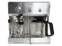 Expresso combiné cafetière pression krups yy8203fd - livraison offerte: code mr2012 pour 177€