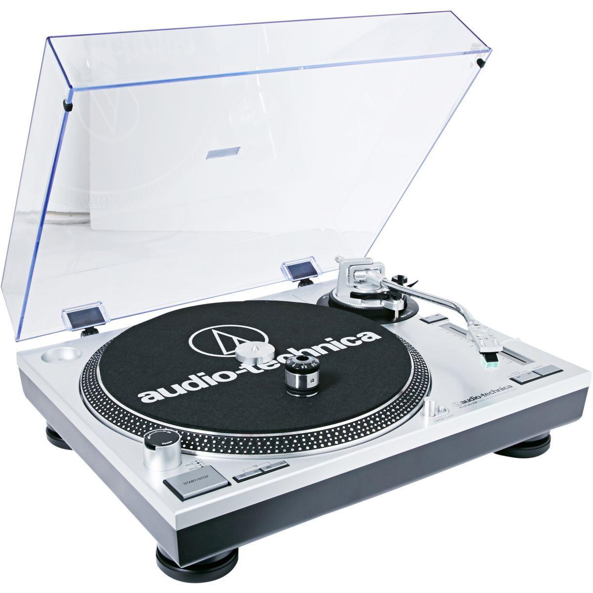 Platine vinyle usb audio-technica at-lp120usbhc - livraison offerte : code livpremium