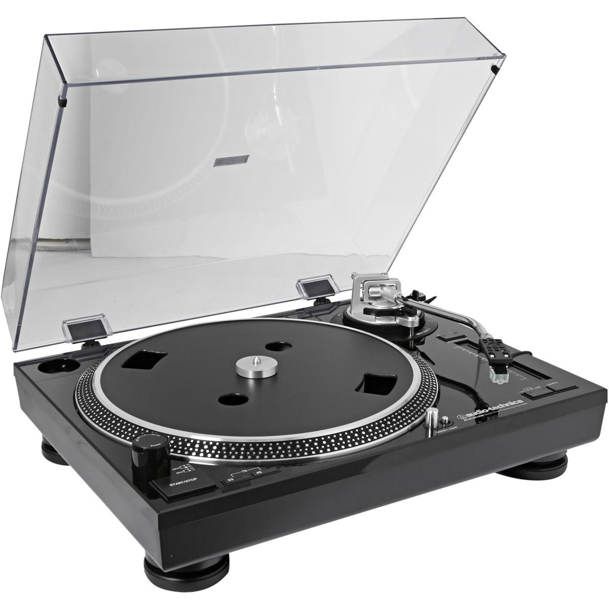 Platine vinyle audiotechnica at-lp120usbhcbk - livraison offerte : code livpremium