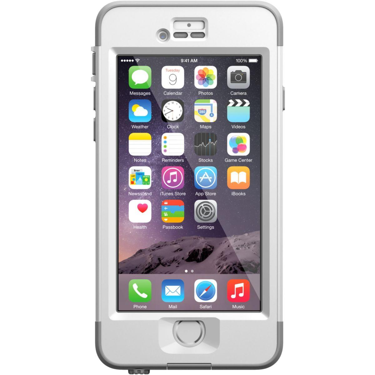 Coque lifeproof nuud iphone 6 blanche v2 - livraison offerte : code liv