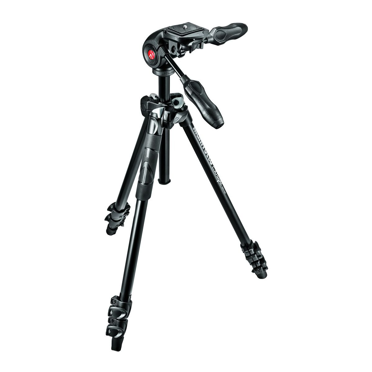Tr�pied manfrotto 290 light + rotule 3d mh293d3-q2 - livraison offerte : code premium (photo)