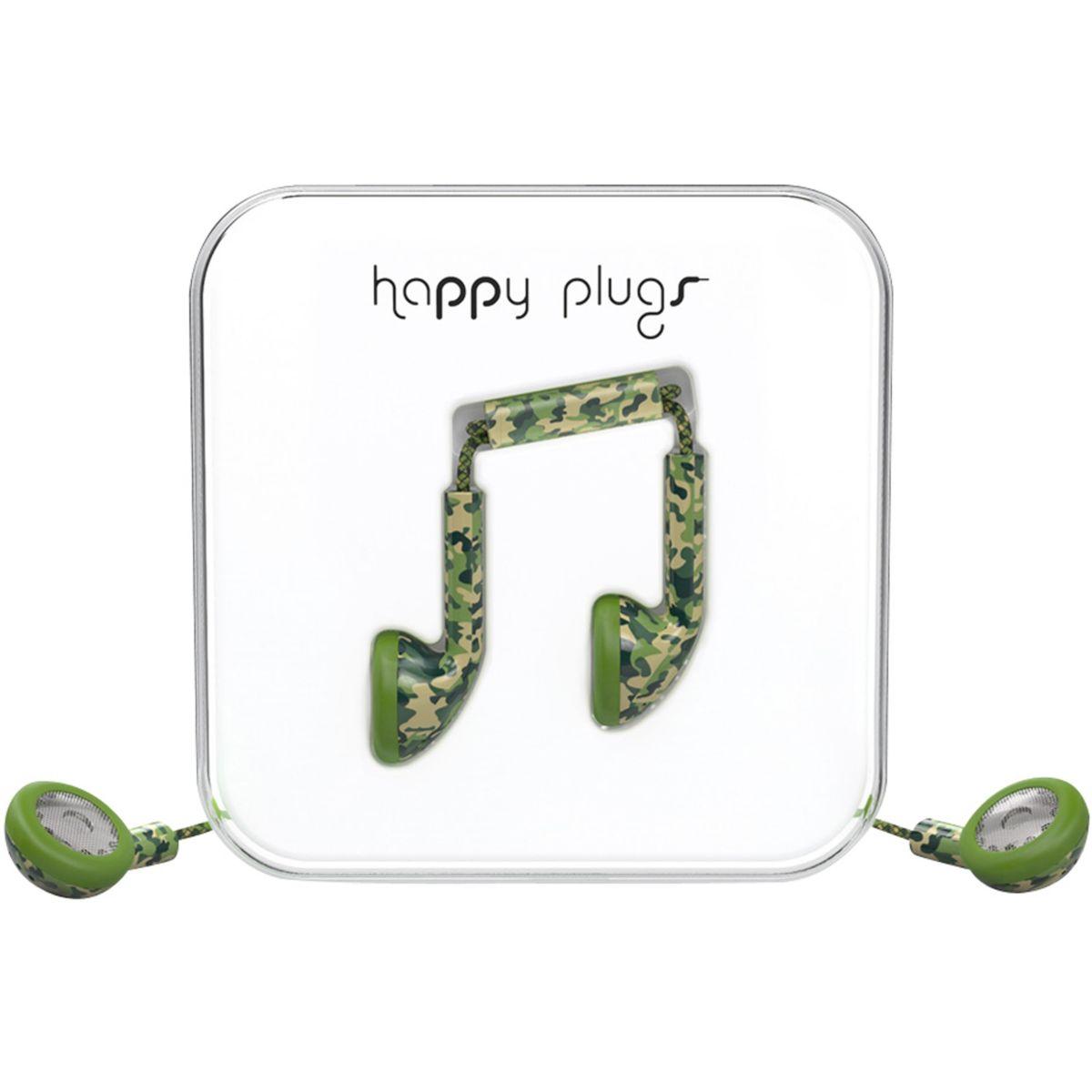 Ecouteurs avec micro happy plugs unik edition - 20% de remise immédiate avec le code : multi20