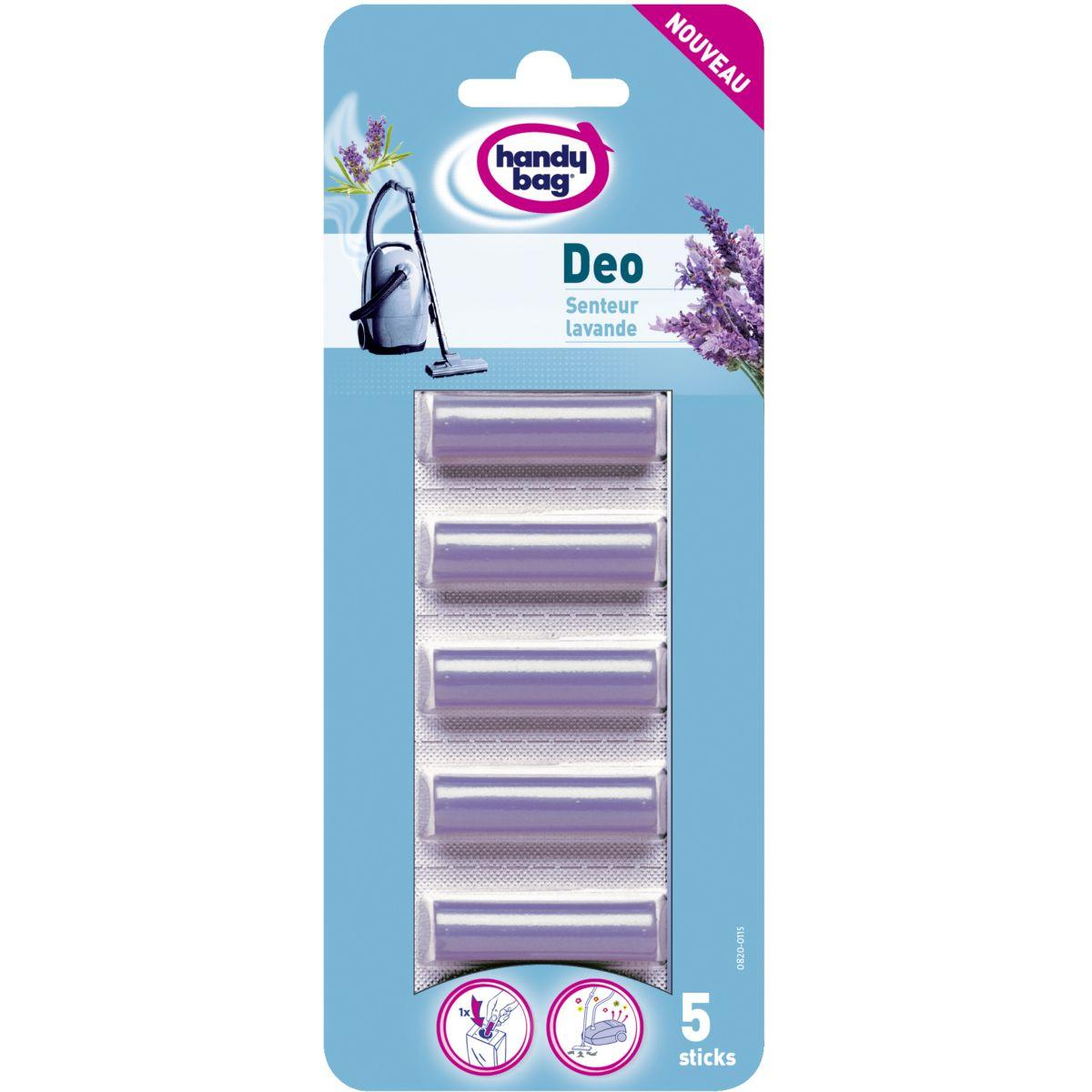 Parfum aspirateur handy bag deo sticks lavande *5 - 7% de remi...