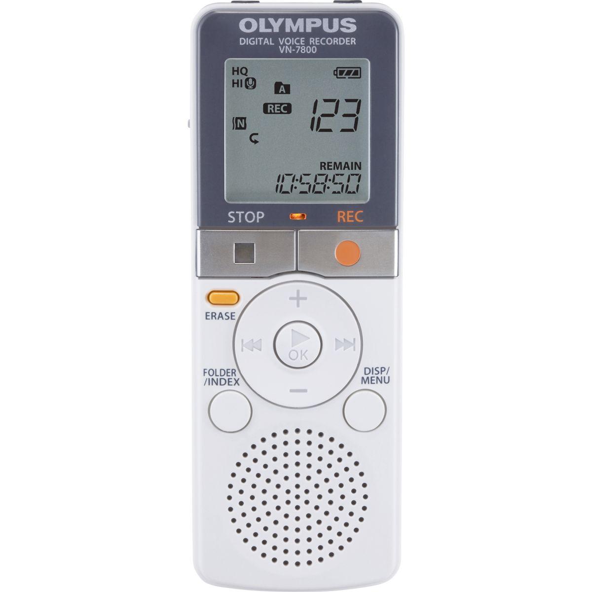 Dictaphone olympus vn-7800 - 15% de remise immédiate avec le code : multi15 (photo)