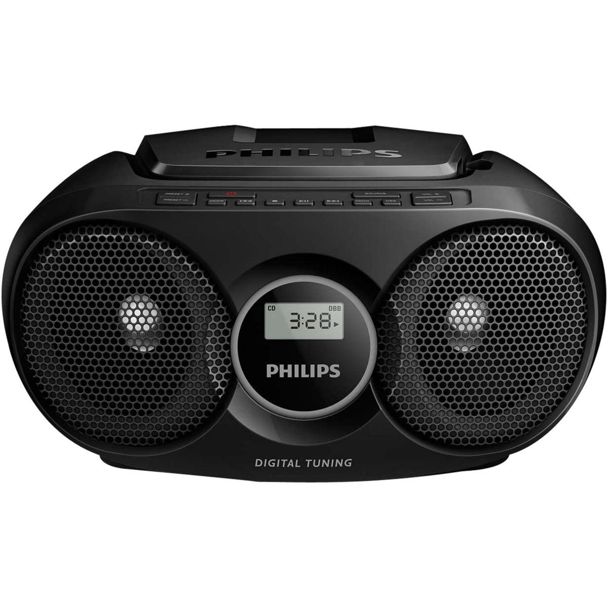Radio cd philips az215b - 10% de remise imm�diate avec le code : wd10 (photo)