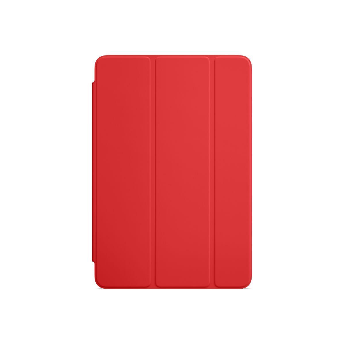 Housse apple silicone rouge ipad mini 4 (photo)