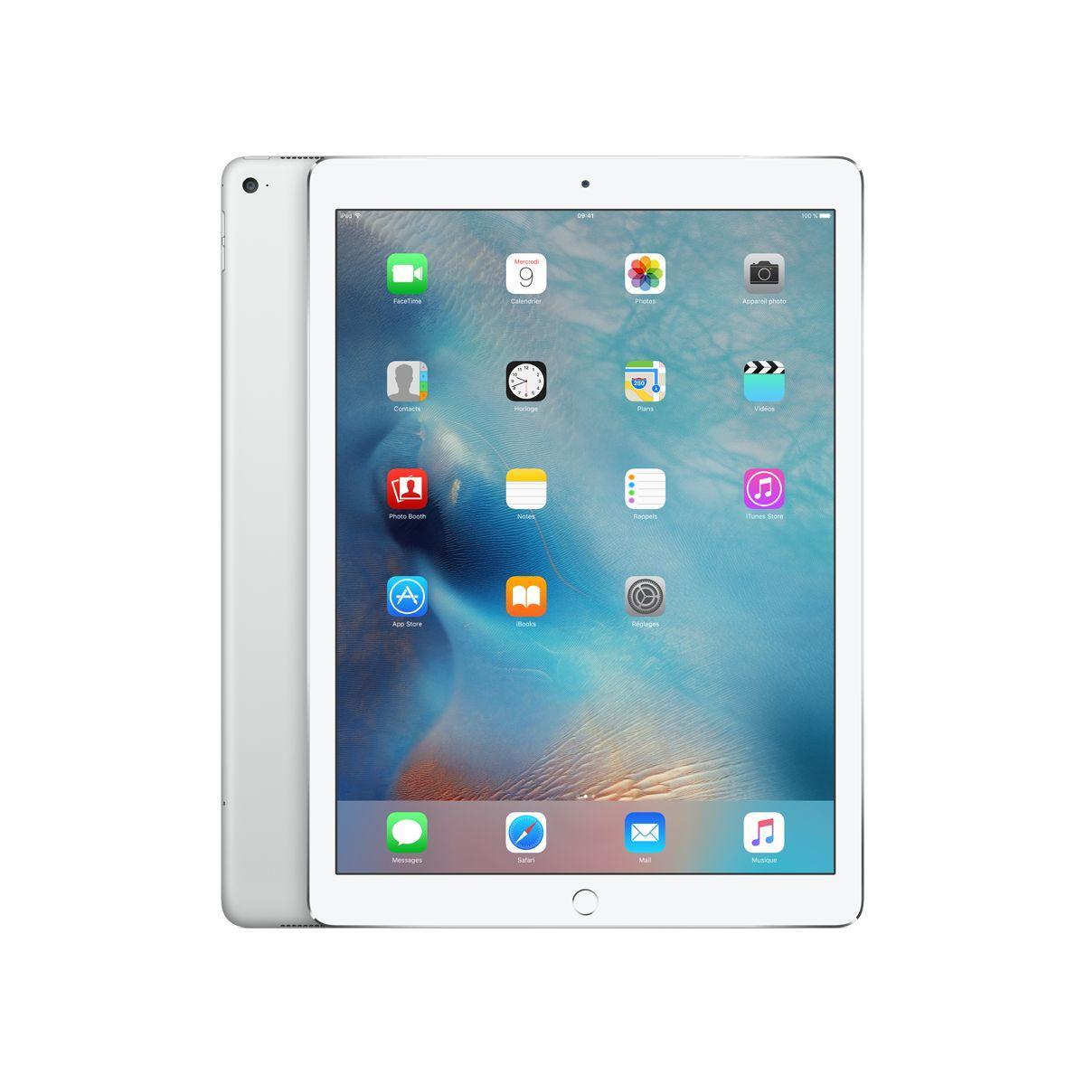 Apple ipad pro 12.9 128go cellular argent (photo)