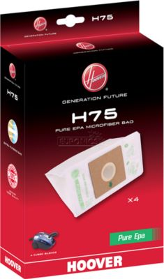 Sac aspirateur hoover h 75 sac microfibre epa x4