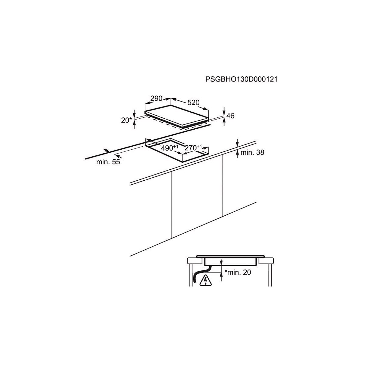 Table induction electrolux ehh3320nvk - livraison offerte : co...