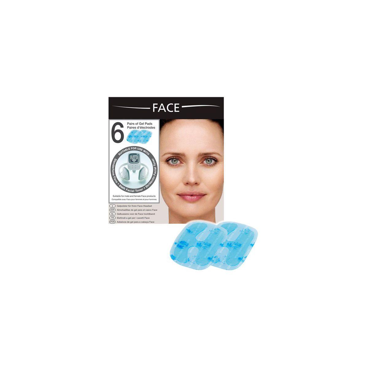 Electrode slendertone electrodes face femme