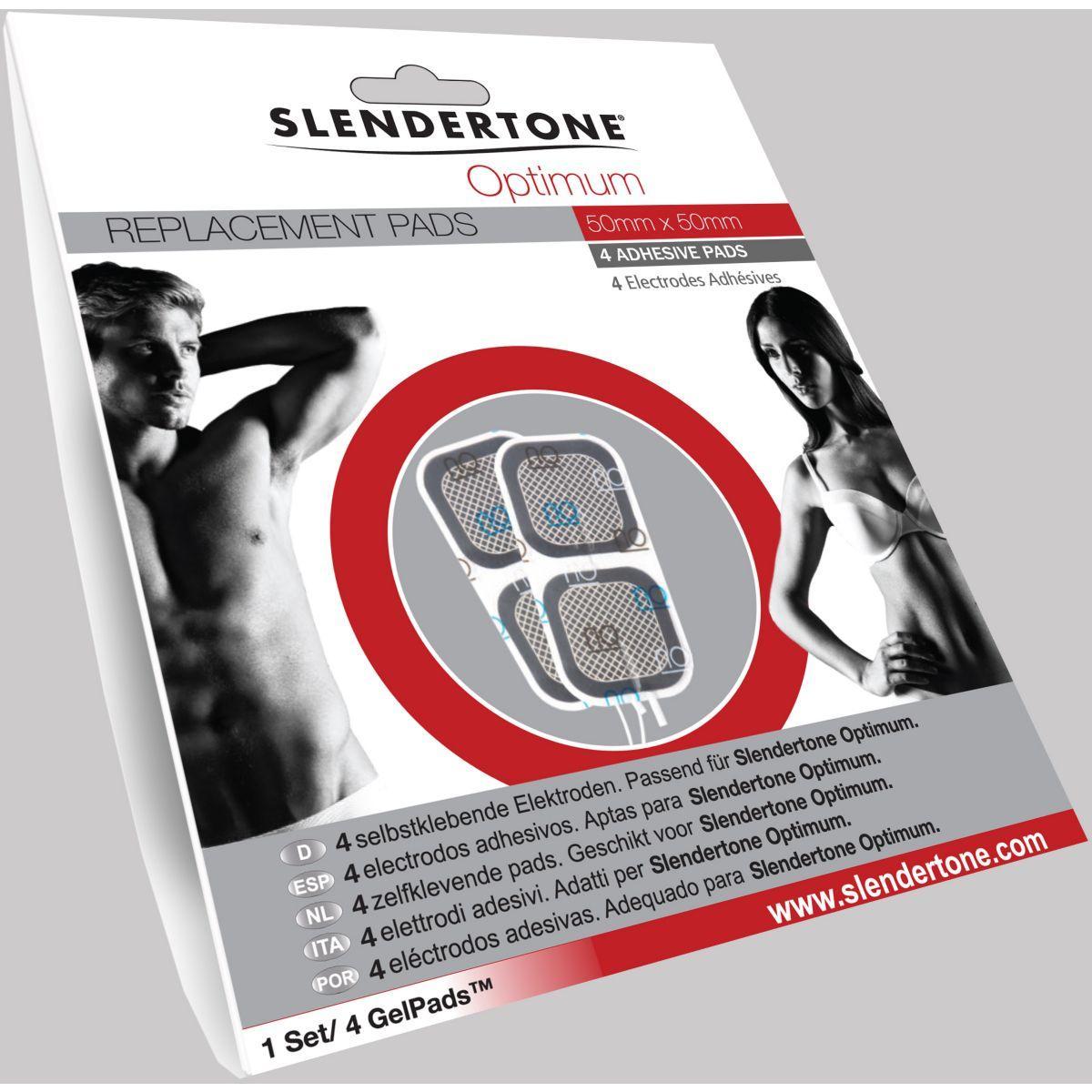 Electro-stimulation slendertone electrodes optimum 50x50
