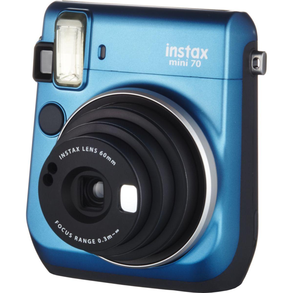 Appareil photo instantan? fuji instax mini 70 bleu