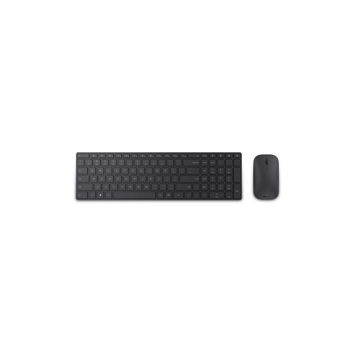 Clavier + souris microsoft designer bluetooth desktop - 2% de ...