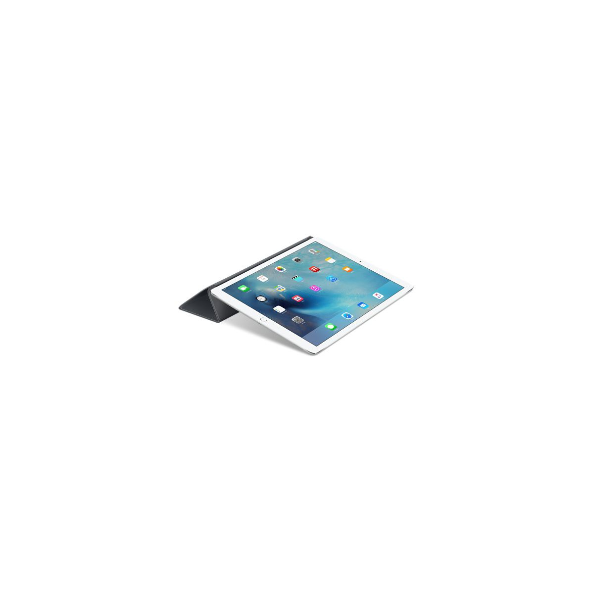 Coque apple ipad pro smart cover silicone gris (photo)