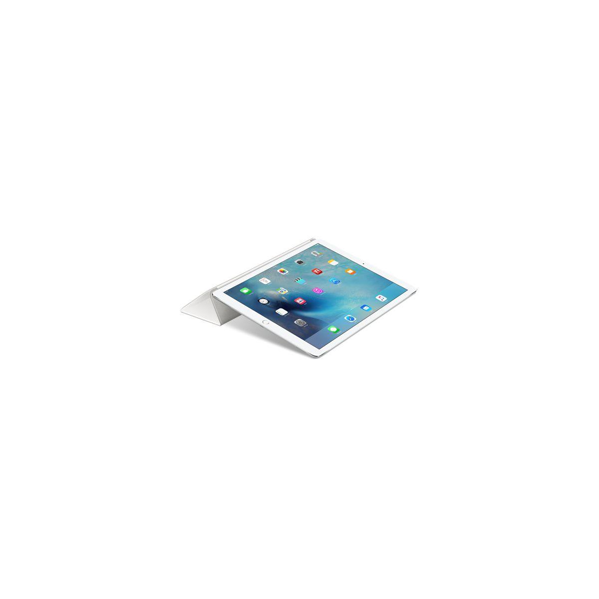 Coque apple ipad pro smart cover silicone blanc (photo)