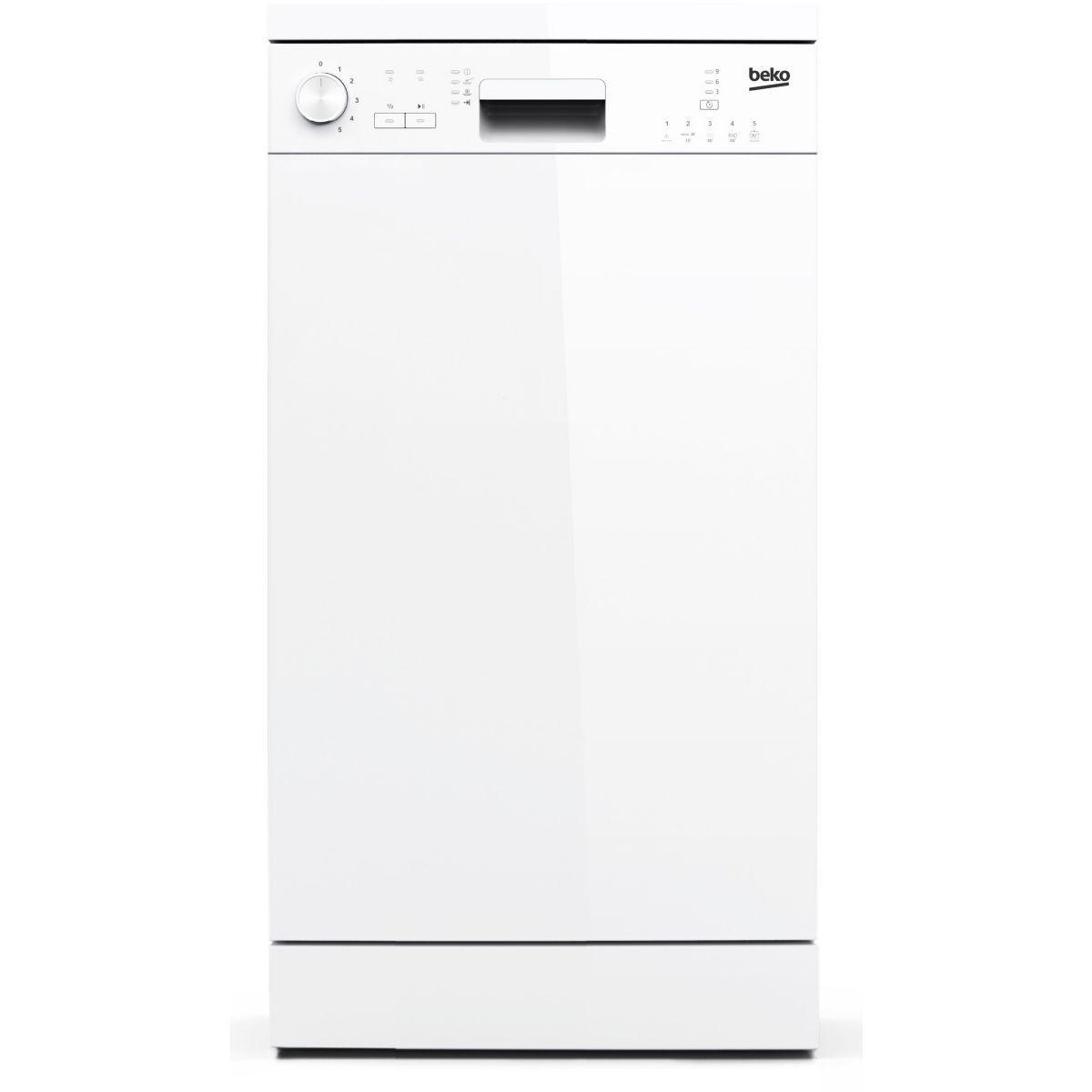 Lave vaisselle 45cm beko dfs05010w soldes et bonnes affaires à prix imbattables