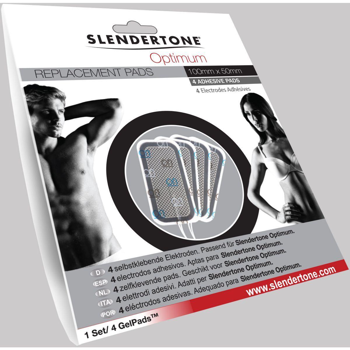 Electro-stimulation slendertone electrodes optimum 50x100 - produit coup de coeur webdistrib.com ! (photo)