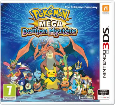 Jeu 3ds nintendo pokemon m�ga donjon myst�re (photo)