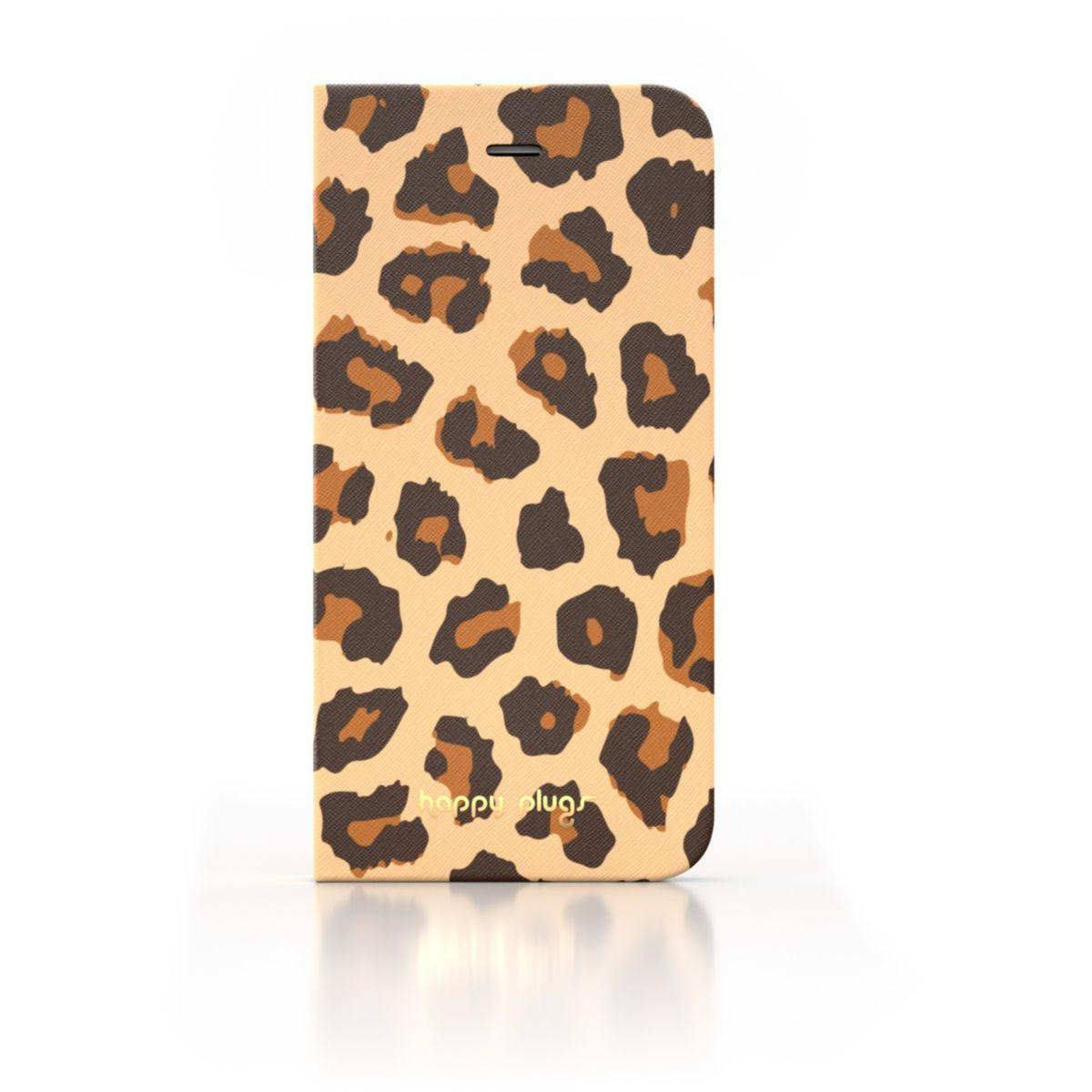 Etui happy plugs iphone 6 leopard - livraison offerte : code relay