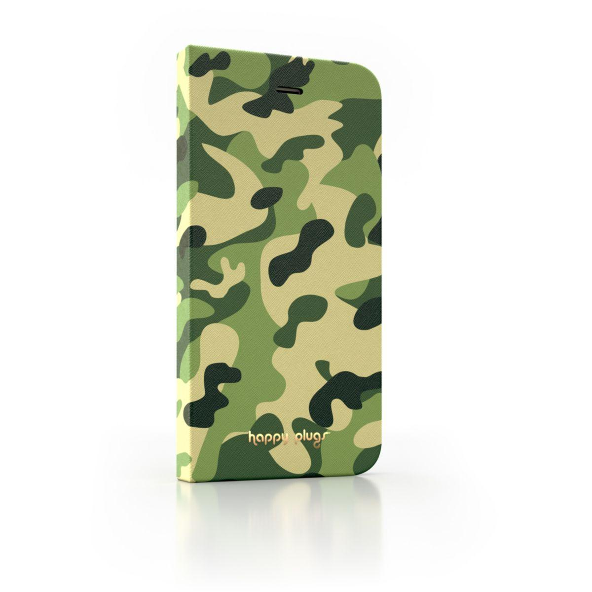 Etui happy plugs iphone 6/6s camouflage - livraison offerte : code relay