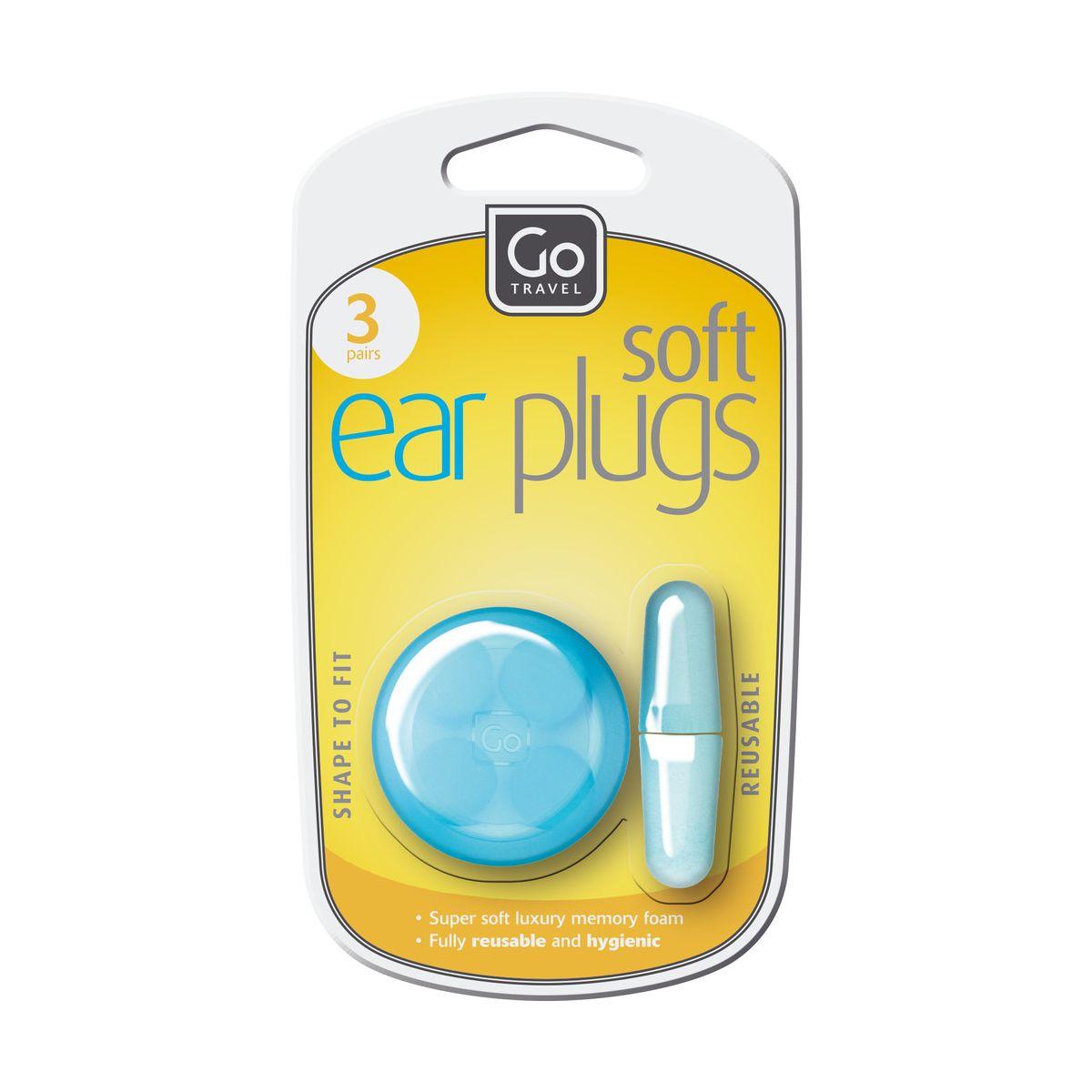 Bouchons d'oreilles go travel - 2% de remise immédiate avec le code : cool2 (photo)