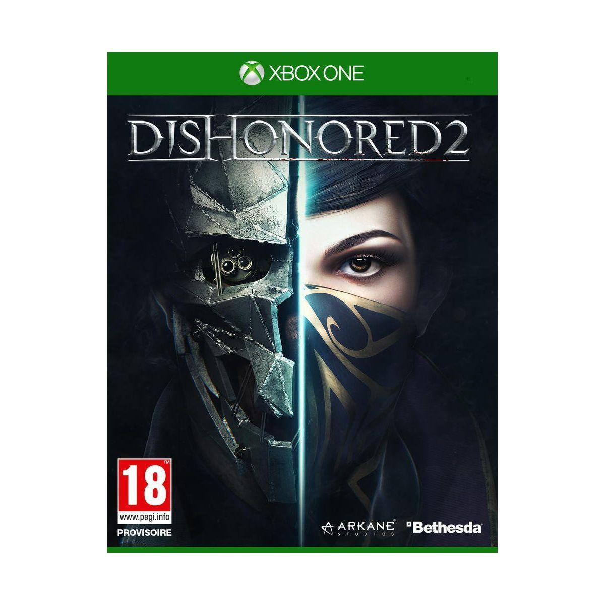 Jeu xbox one bethesda dishonored 2