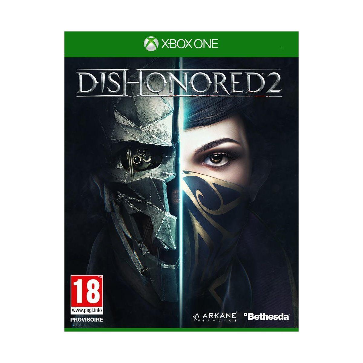 Jeu xbox one bethesda dishonored 2