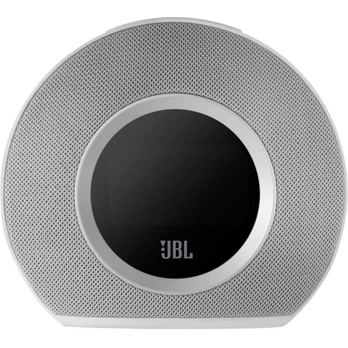 Radio-réveil bluetooth jbl horizon blanc - livraison offerte : code livpremium (photo)