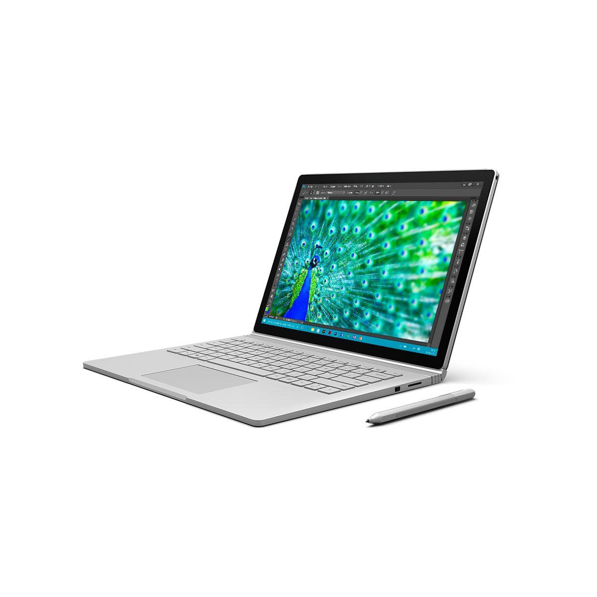 Microsoft surface book 128go i5 8go (photo)
