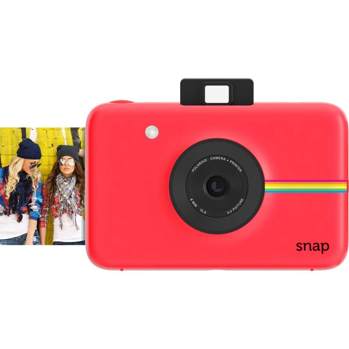 Appareil photo instantan? polaroid snap rouge - 20% de remise ...