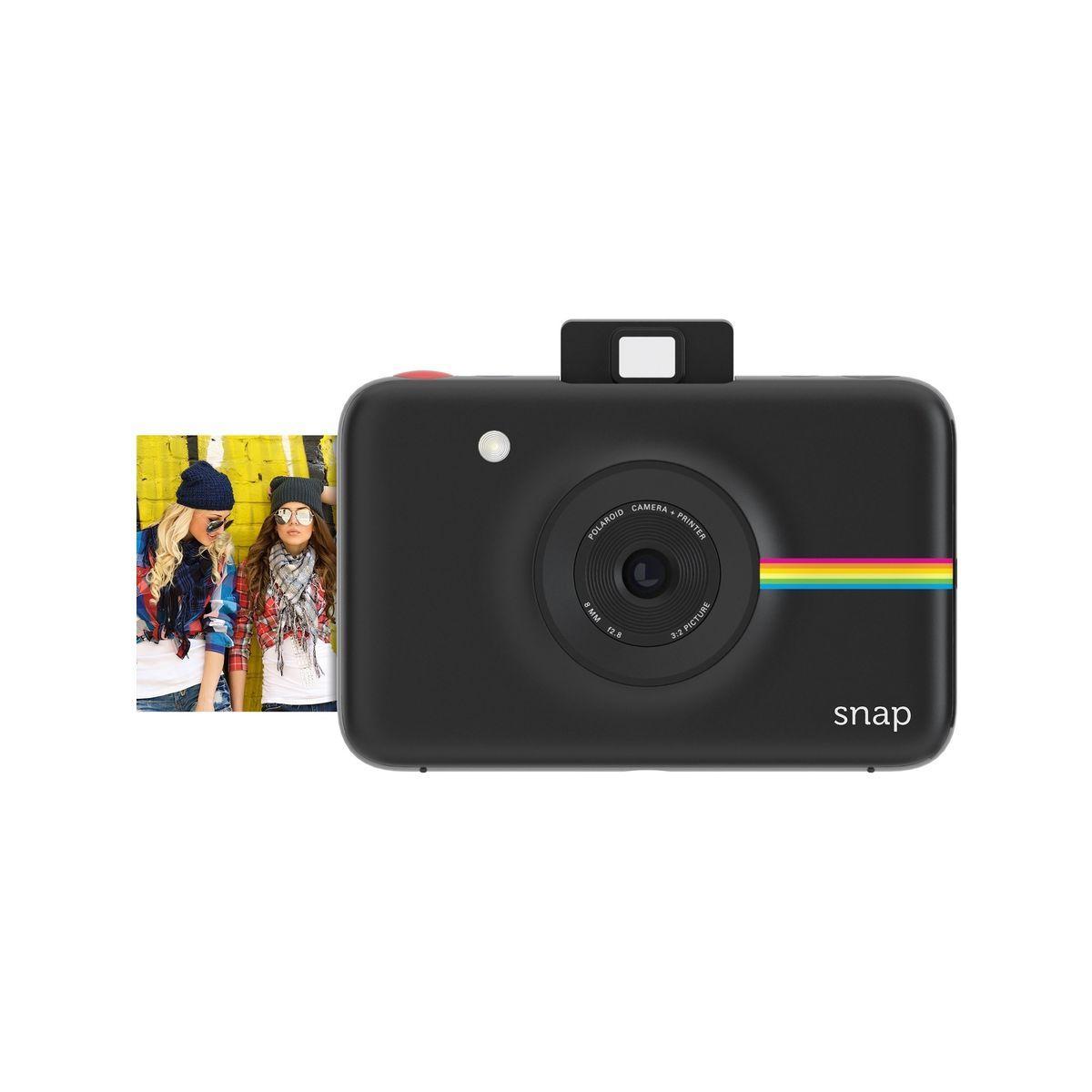 Appareil photo instantan? polaroid snap noir - 10% de remise i...