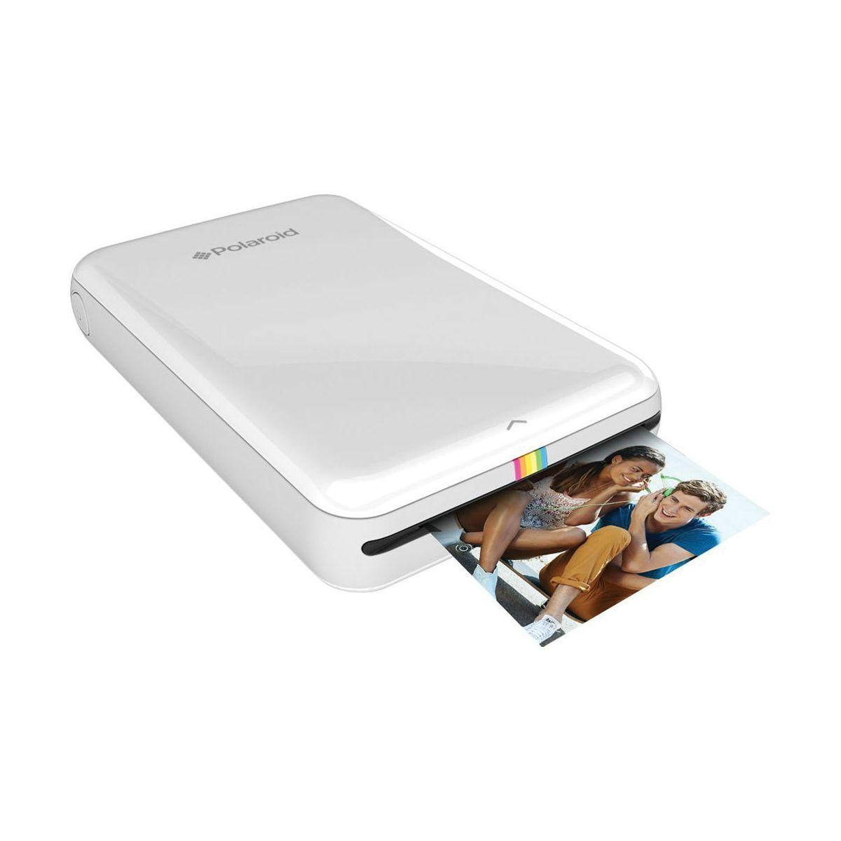 Imprimante photo portable polaroid zip blanche