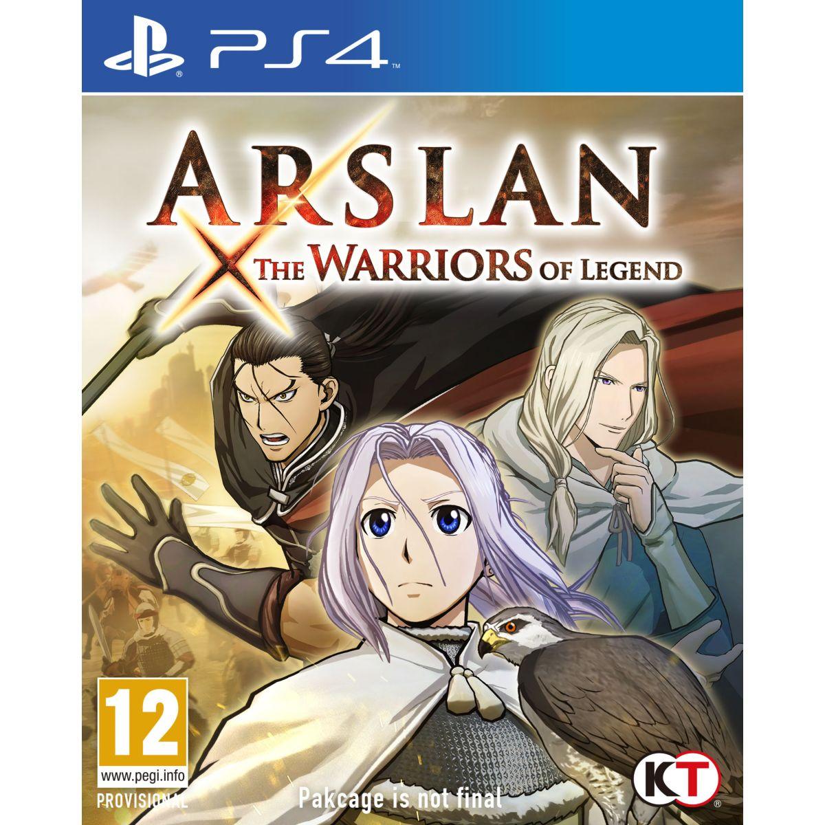 Jeu ps4 koch media arslan : the warriors of legend (photo)