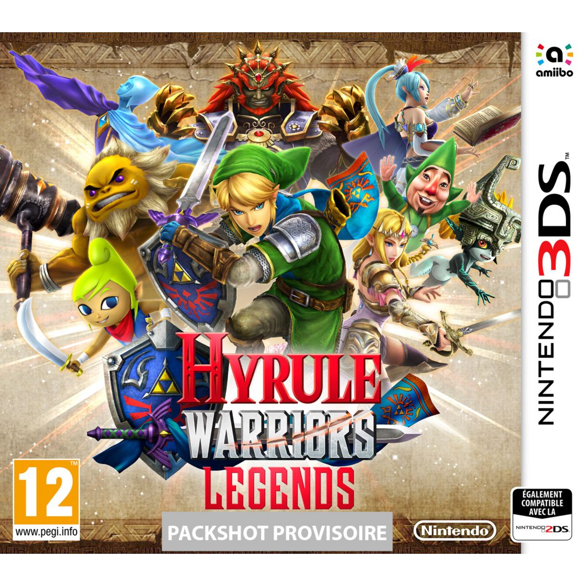 Jeu 3ds nintendo hyrule warriors legends - 2% de remise immédiate avec le code : cool2 (photo)