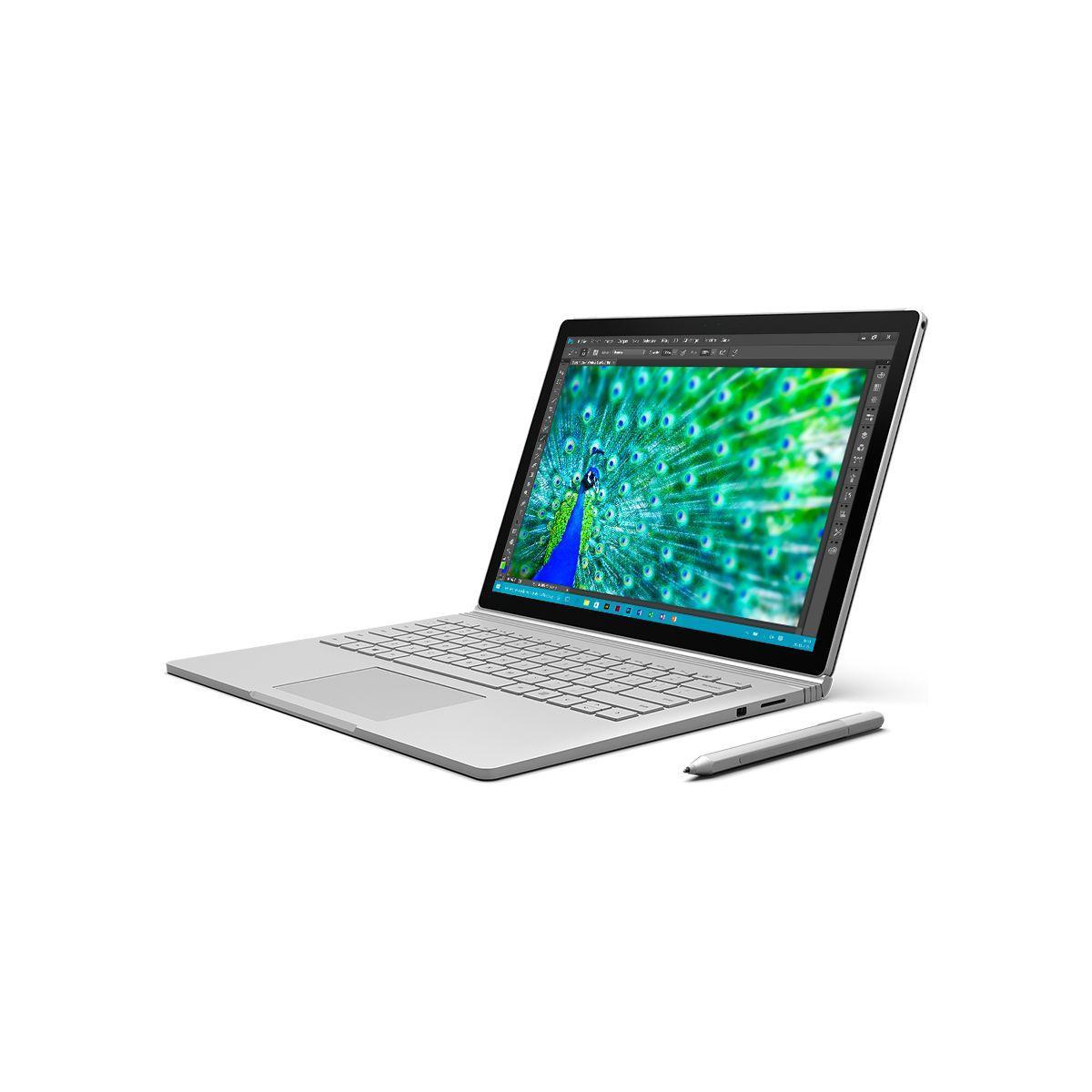 Microsoft surface book 256go intel i7 8go (photo)