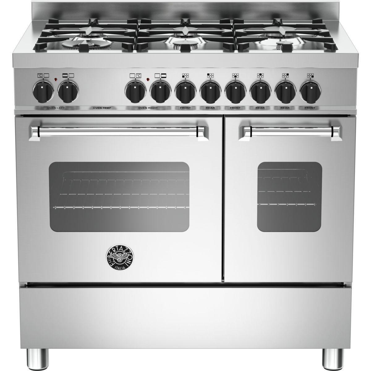 Piano de cuisson bertazzoni mas90 6 mfe d xe - produit coup de coeur webdistrib.com ! (photo)