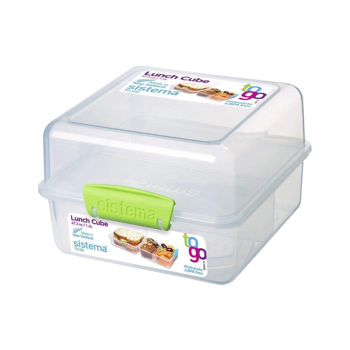 Boîte aliment sistema repas à clips lunc (photo)