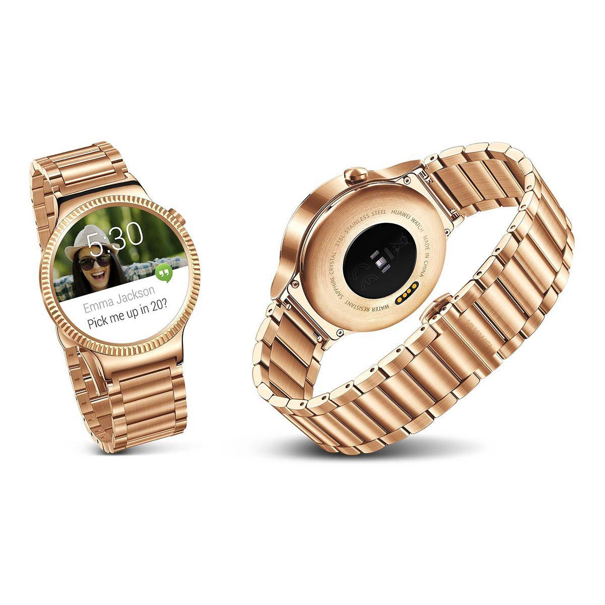 Montre connectée huawei watch elite or/metal - 15% de remise immédiate avec le code : top15 (photo)