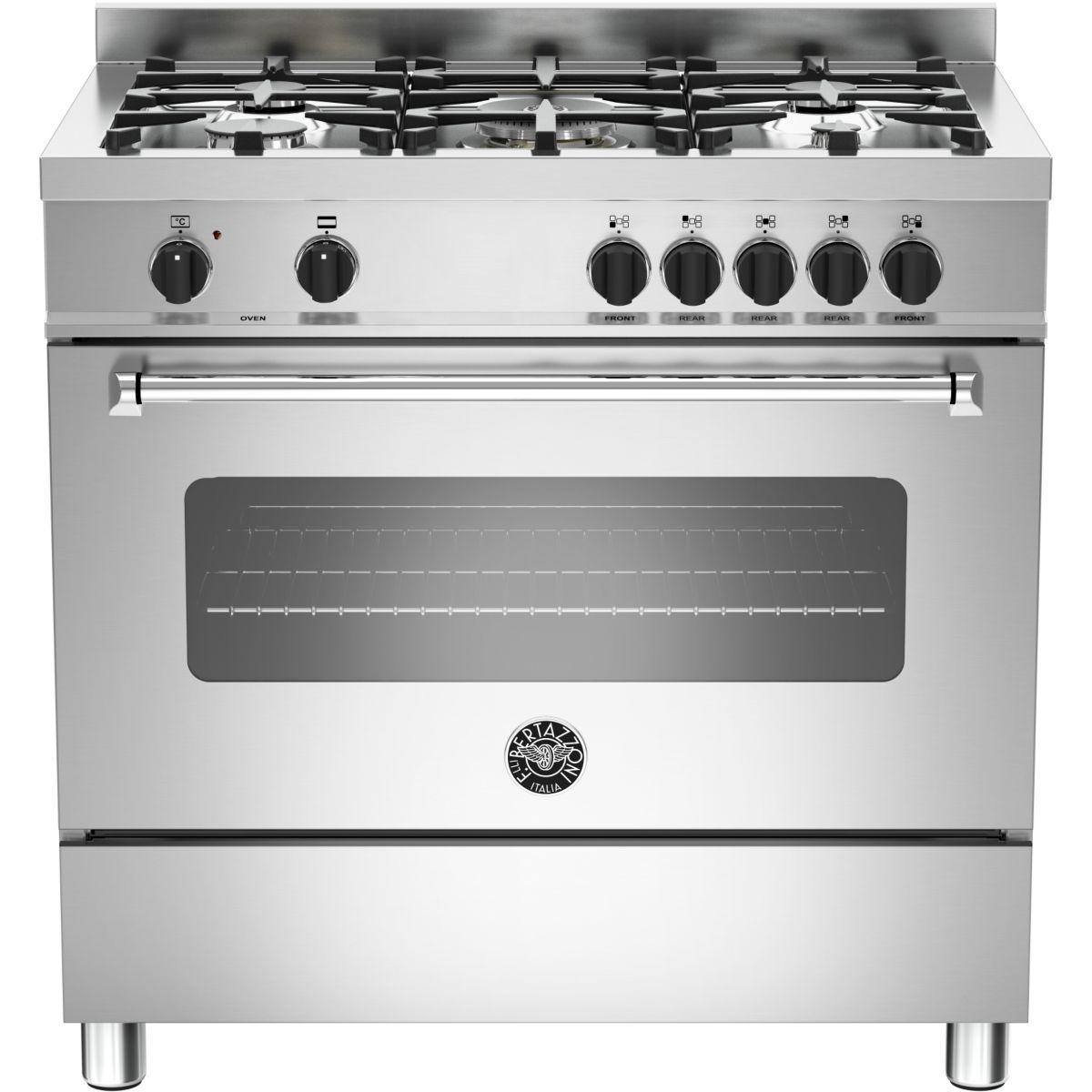 Cuisinière gaz bertazzoni mas90 5 mfe s xe - produit coup de coeur webdistrib.com ! (photo)