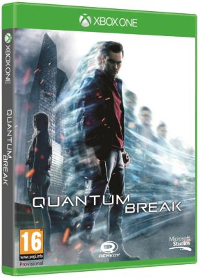 Jeu xbox one microsoft quantum break - livraison offerte : cod...