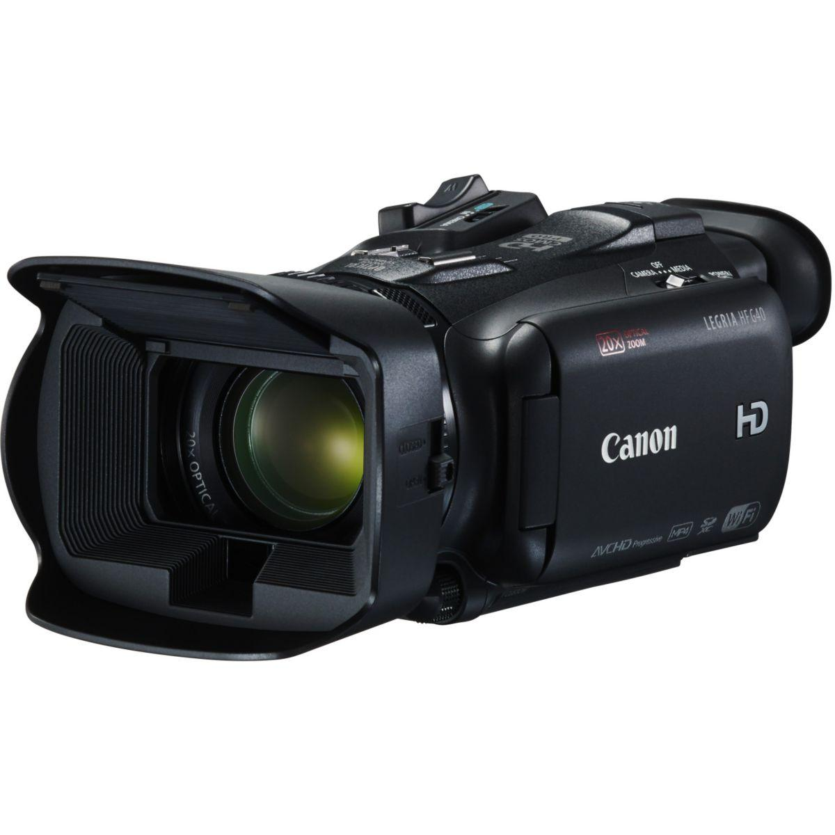 Camescope canon hf g40 - 2% de remise imm?diate avec le code :...