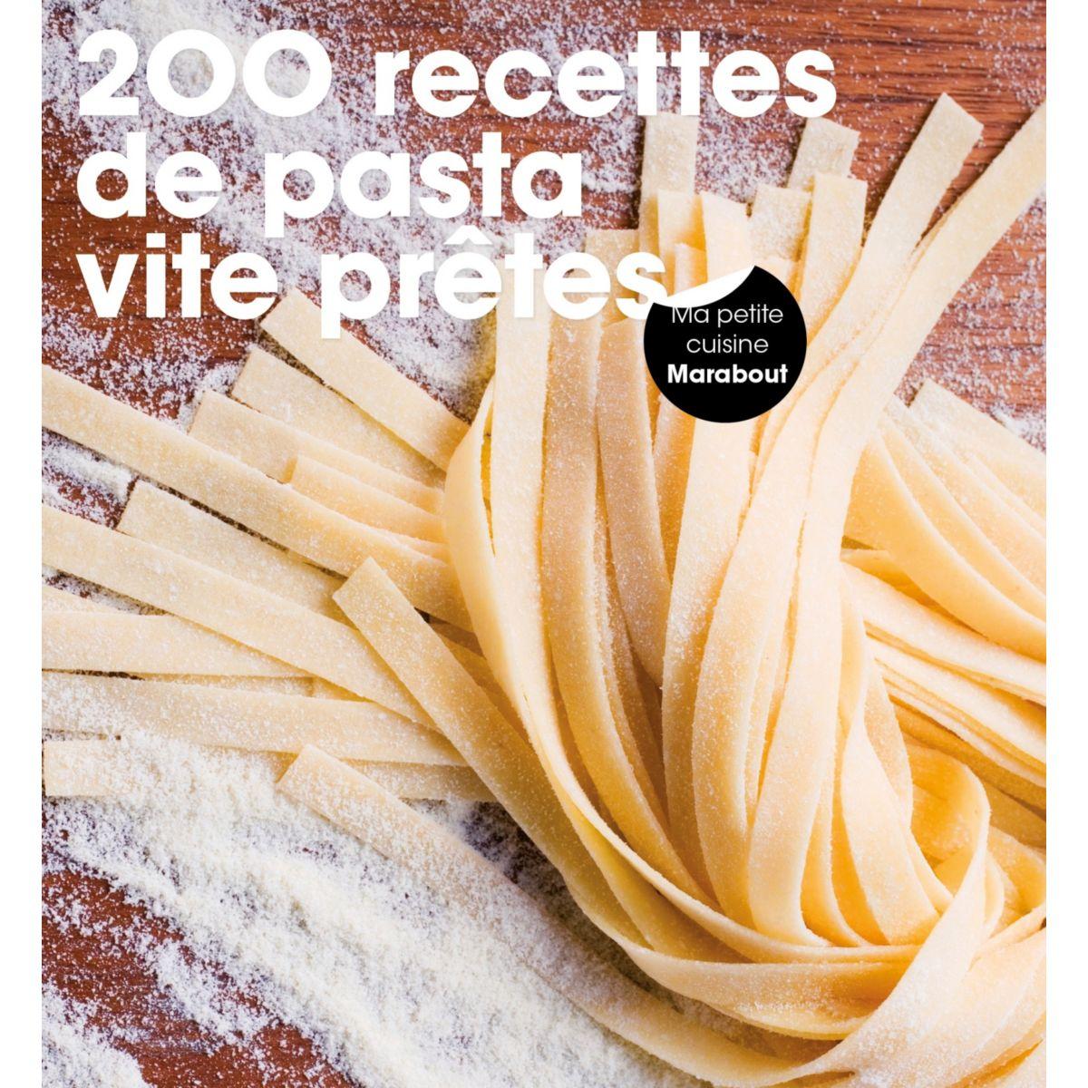Livre marabout 200 recettes faciles de p - la sélection webdistrib.com (photo)
