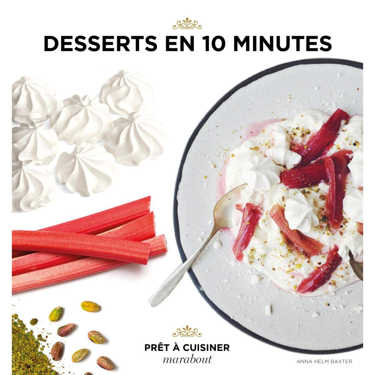 Livre marabout desserts en 10 minutes - la sélection webdistrib.com (photo)