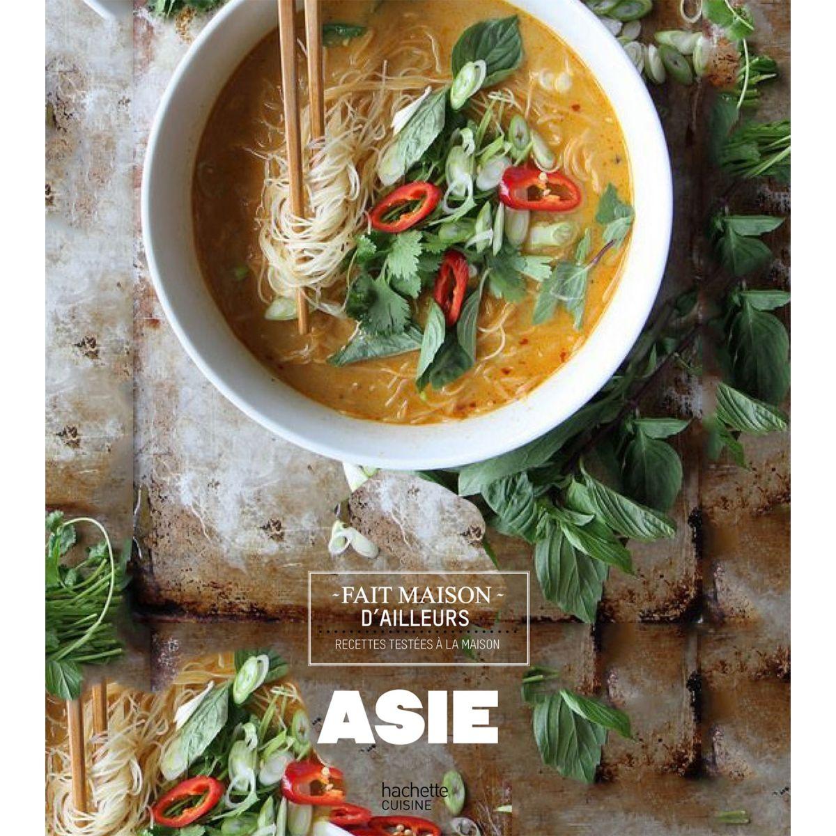 Livre hachette asie les meilleures recet - la sélection webdistrib.com (photo)